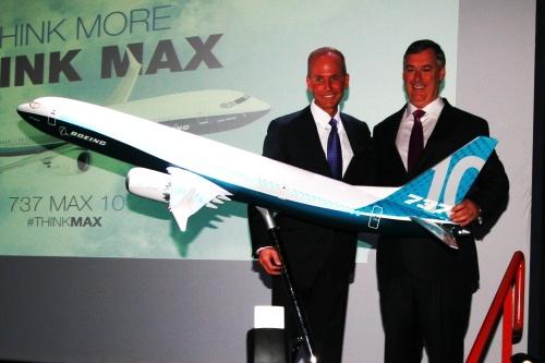 Paris Air Show: новому 737 Max 10 быть!