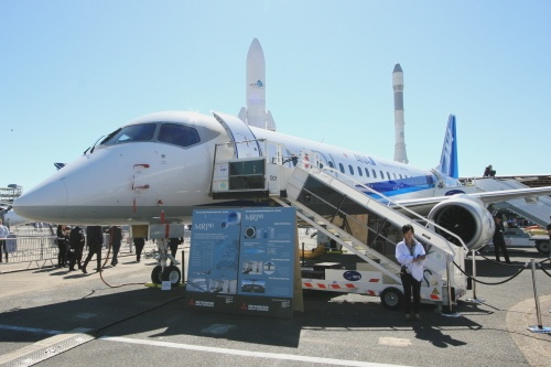 mrj 2 - Paris Air Show: Mitsubishi Regional Jet готов к сертификации