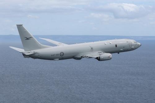 p8aaa - Первая миссия австралийского  P-8A Poseidon