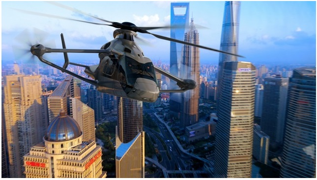 racer - Премьера прототипа высокоскоростного вертолета Racer