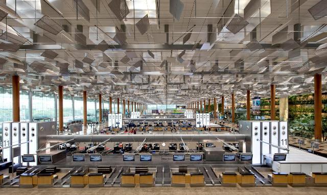 singapur - Аэропорт Сингапура признан лучшим в мире