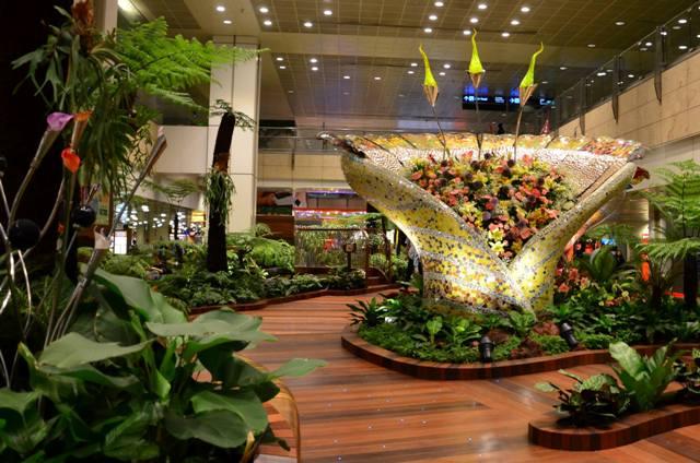 singapur1 - Аэропорт Сингапура признан лучшим в мире