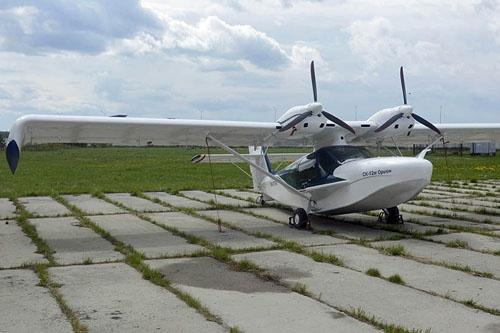 СК-12М - новый российский самолет-амфибия
