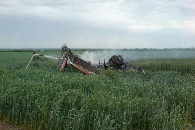 Недалеко от Рязани разбился самодельный самолет