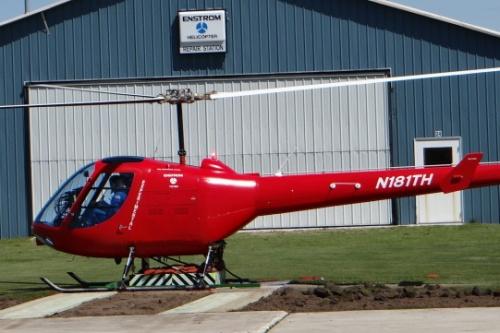 th180 - Продолжаются испытания учебного вертолета TH-180