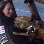 Необычная тренировка на авиасимуляторе Boeing 777