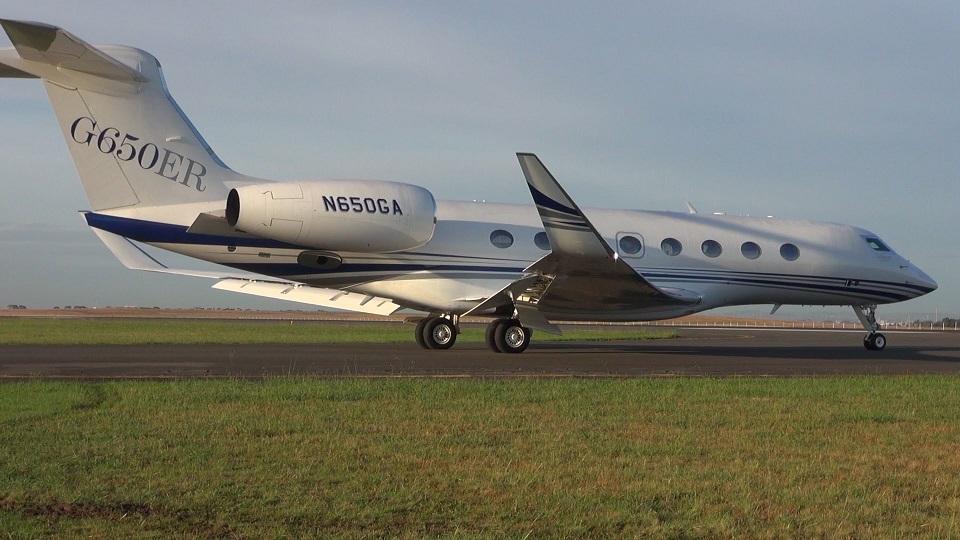 В Анголу поставили первый Gulfstream G650ER