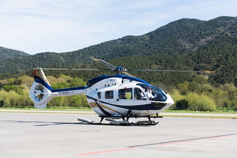Взлетный вес вертолета H145 увеличен