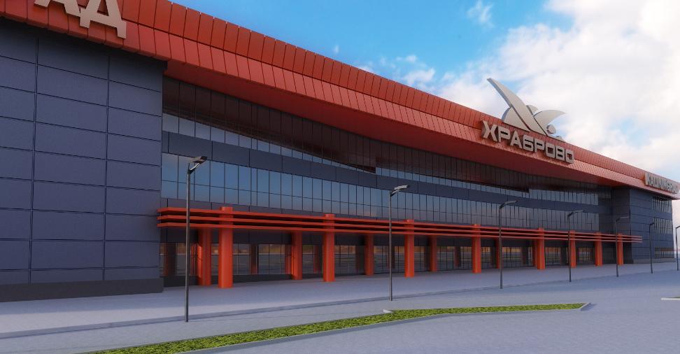 kaliningrad aeroport - Новый терминал в аэропорте «Храброво» откроют через неделю