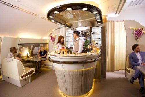 4650 - Новая кают-компания в A380   Emirates