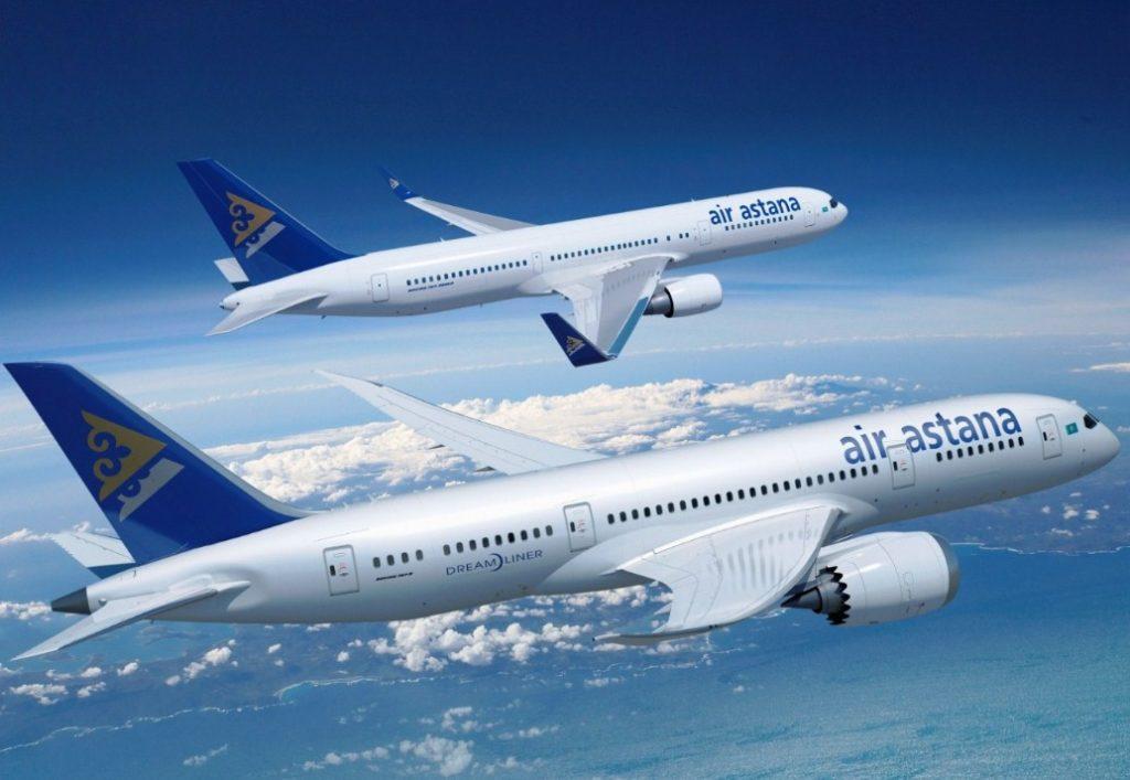Air Astana 1024x707 - За отказ убрать столик оштрафован пассажир Air Astana