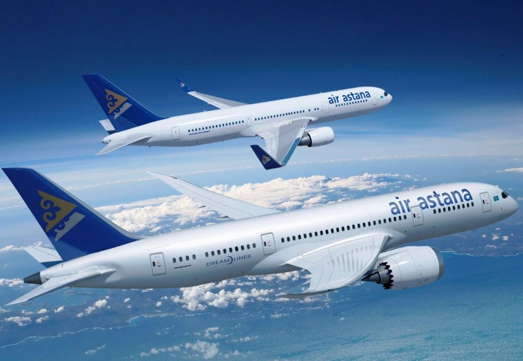 За отказ убрать столик оштрафован пассажир Air Astana