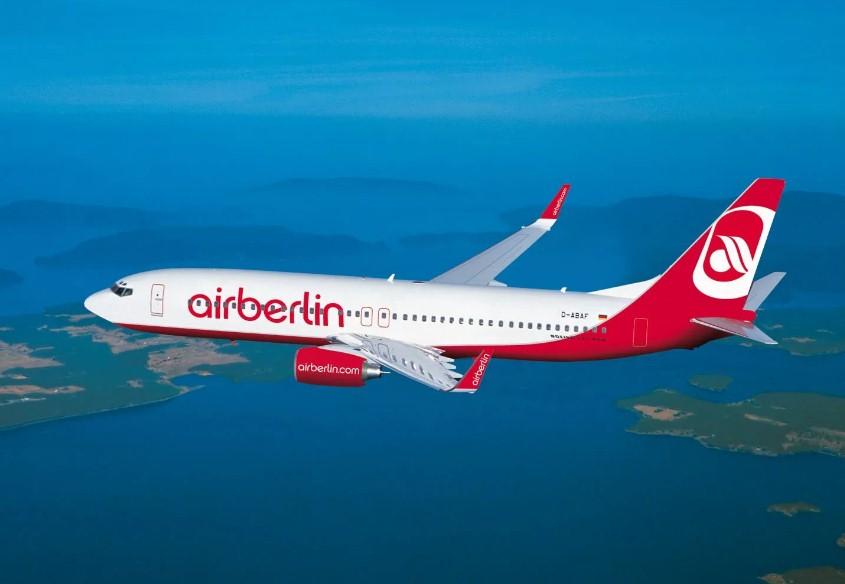 AirBerlin увеличила число мест в бизнес-классе
