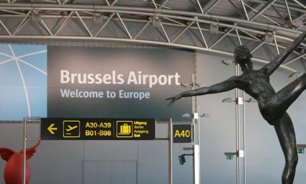 Международном аэропорту Завентем началась забастовка