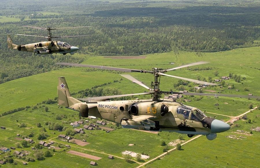 Иностранных военных в Приморье обучают вождению вертолета Ка-52