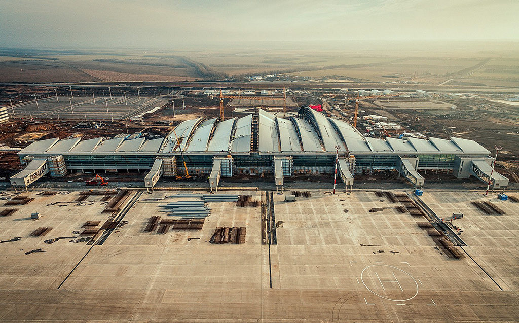 "ae`roport Platov 1024x637 - Аэропорт ""Платов"" 1 декабря будет запущен в эксплуатацию"