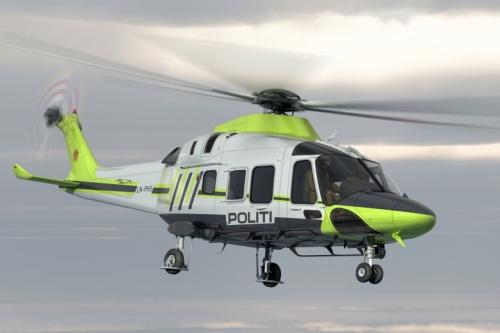 Полиция Норвегии выбрала AW169