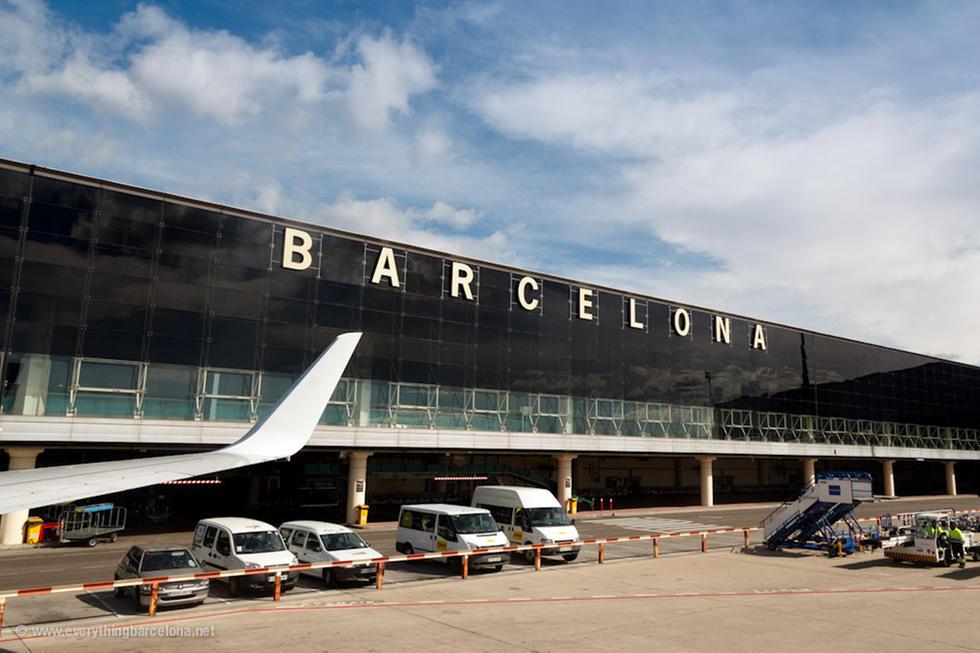 barcelona airport - В аэропорту Барселоны образовались очереди