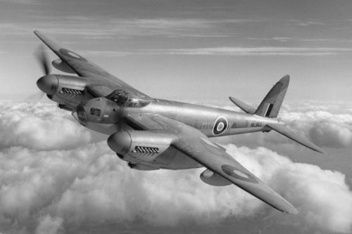 Найдена производственная документация  по самолету  Mosquito