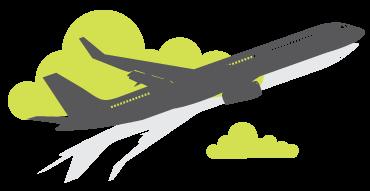 plane 1 - Penerbangan perubatan