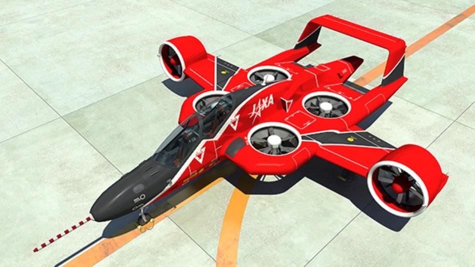 В Японии разрабатывают двухместное беспилотное аэротакси