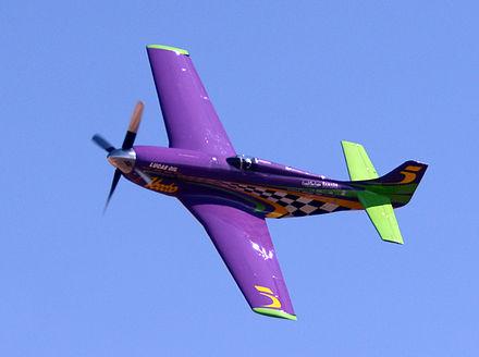Стив Хинтон намерен побить рекорд скорости для поршневых самолетов
