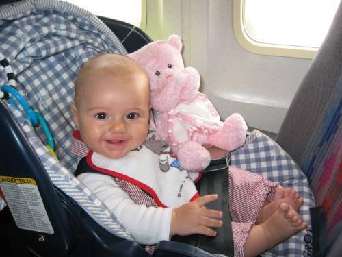Авиаперелет с малышом