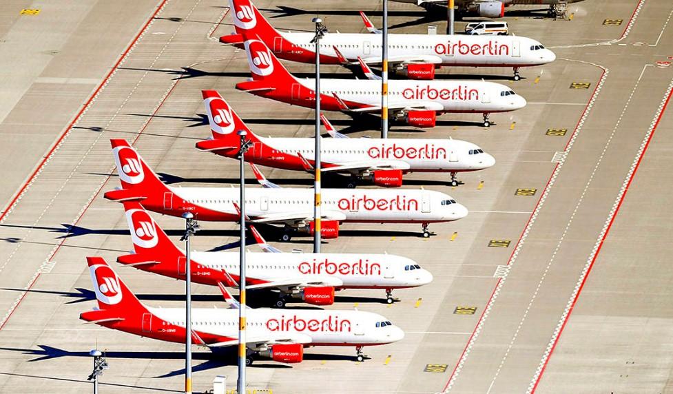 Air Berlin получит ещё один кредит от правительства Германии