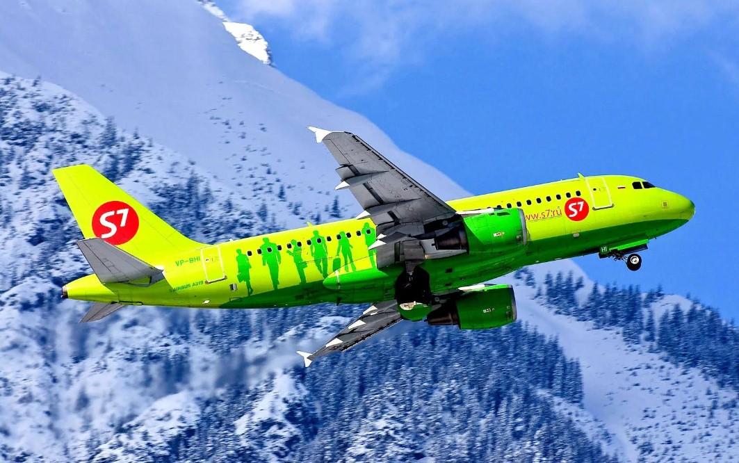 S7 Airlines 1 - S7 Airlines открывает рейсы в Турин и Верону