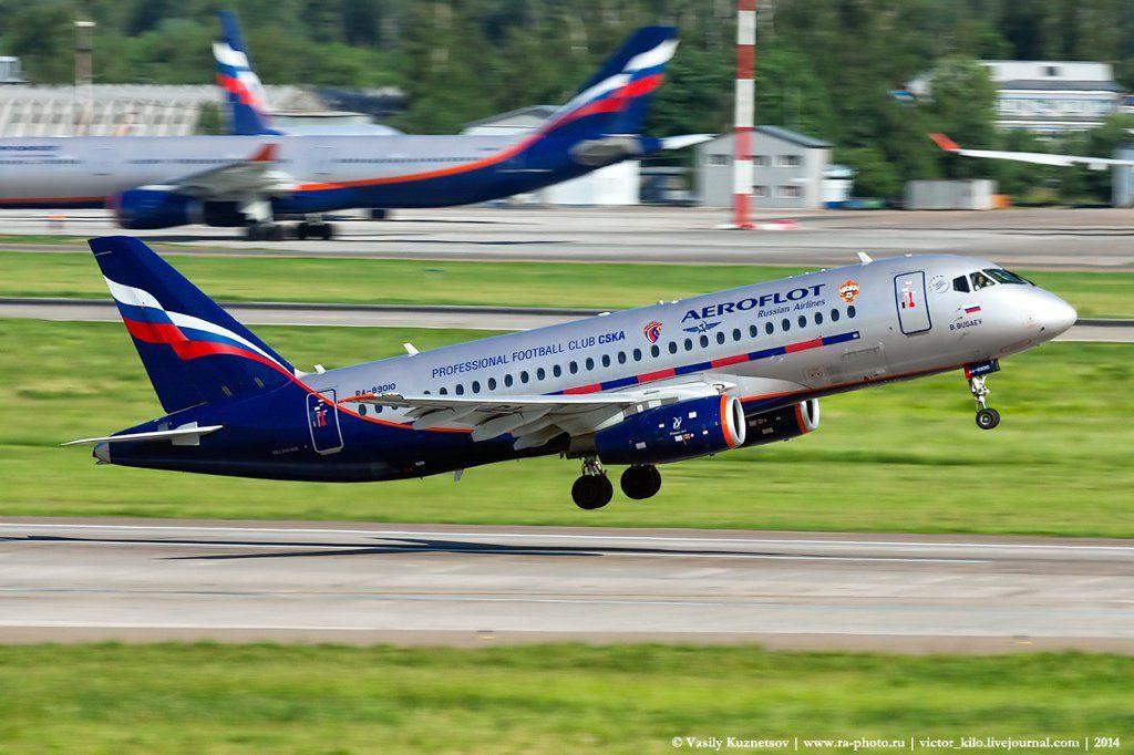 ae`roflot 1 1024x682 - ВЭБ профинансировал поставку двух Sukhoi SuperJet 100