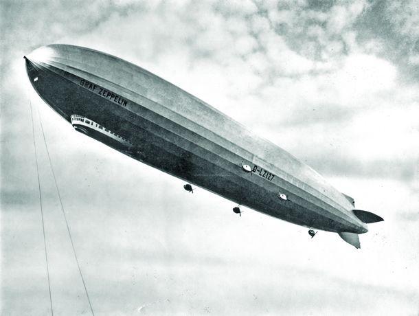 dirigible - В Бразилии сохранился единственный в мире причал и ангар для дирижаблей