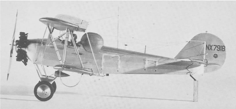 fig.2b. ny 2 husky model with hood. - Первый слепой полет в истории авиации