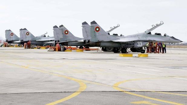 Болгарские летчики отказываются летать на МиГ-29