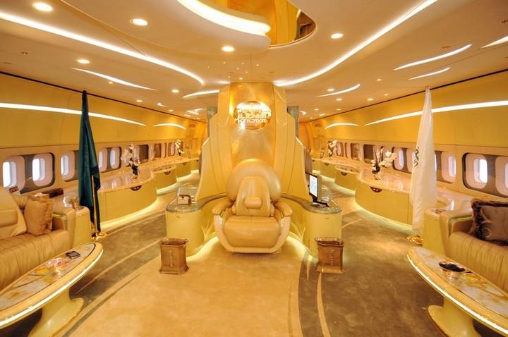 «Летающий дворец» принца Аль-Валида бин Талала
