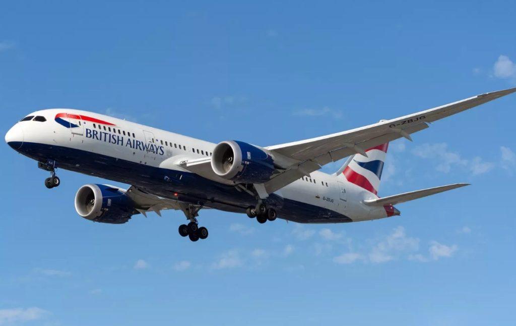 British Airways 1024x646 - 25-й самолет Boeing 787 Dreamliner получила British Airways