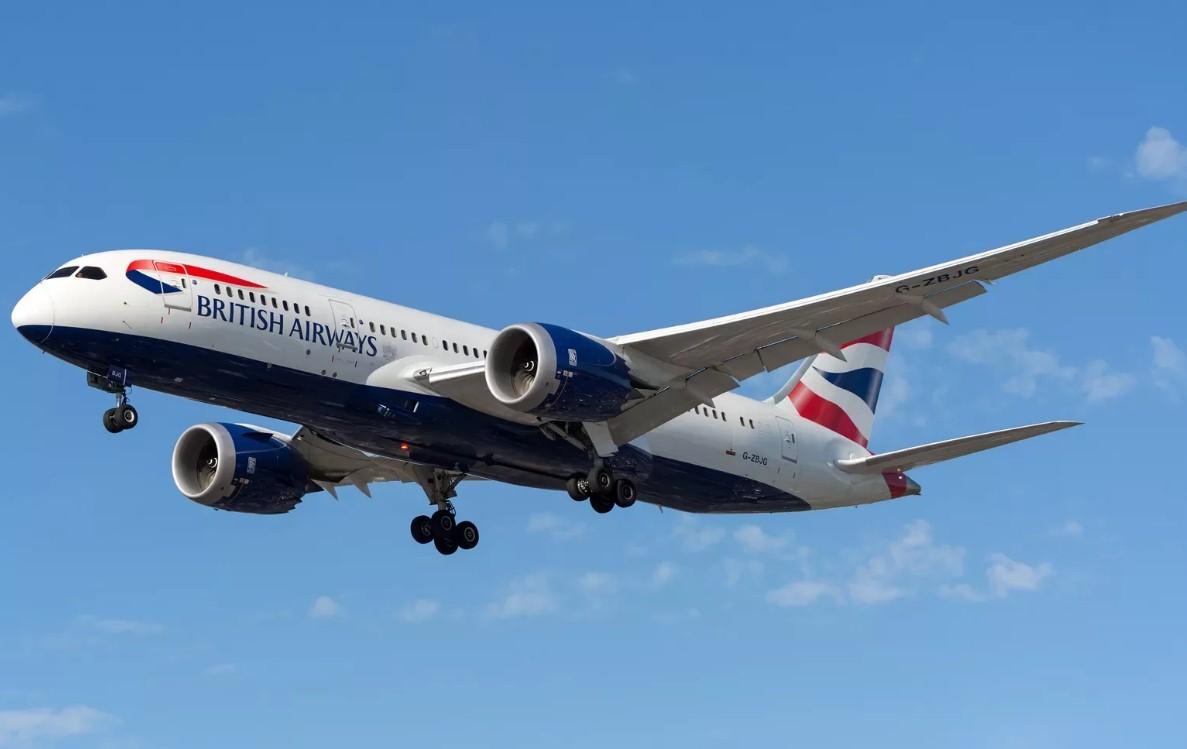 British Airways - 25-й самолет Boeing 787 Dreamliner получила British Airways