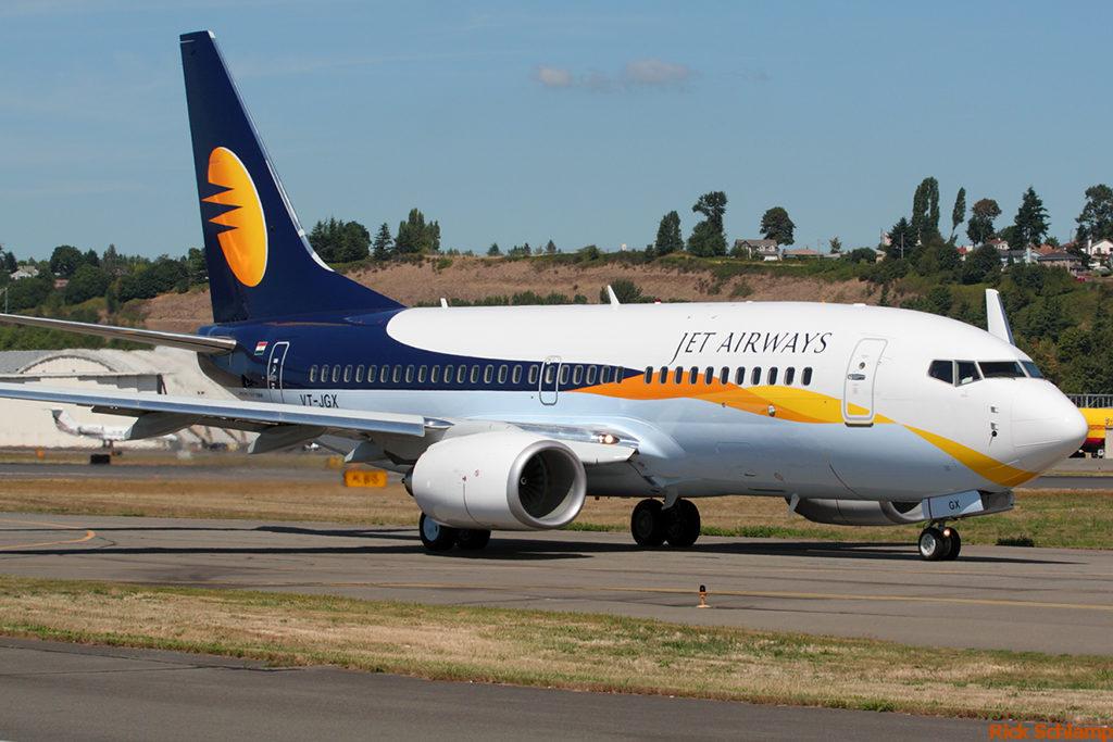 Jet Airways 1024x683 - Самолёт авиакомпании Jet Airways совершил посадку из-за записки