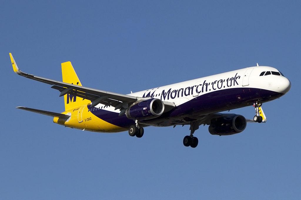 860 тысяч человек могут пострадать от краха Monarch Airlines