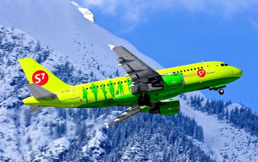 Авиакомпания S7 Airlines переходит на зимнее расписание полетов