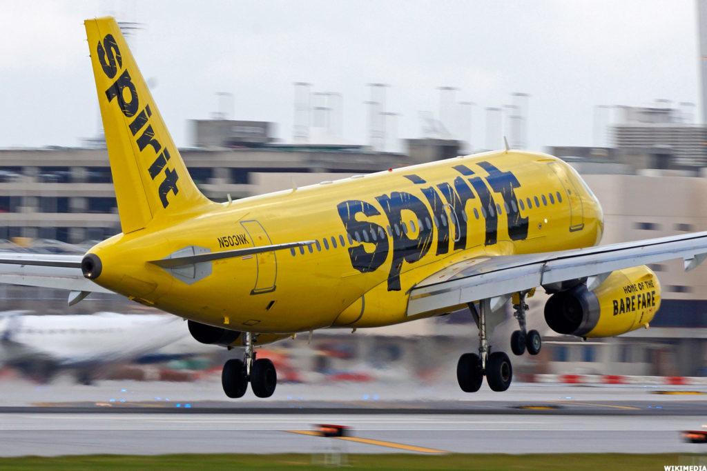 Spirit Airlines 1024x683 - Пилот авиакомпании Spirit Airlines употреблял наркотики