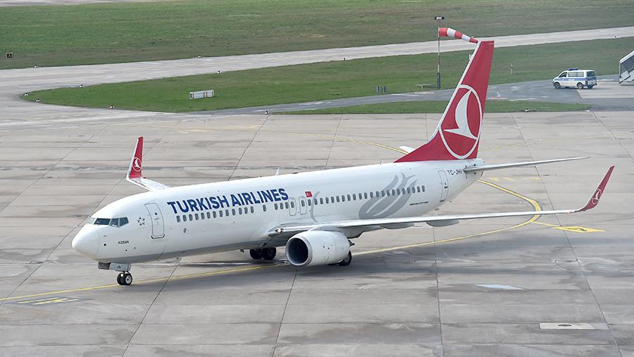 Turkish Airlines - В Турции авиарейсы будет сопровождать воздушная полиция
