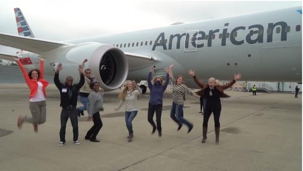 american screenshot - Компания American Airlines находится «на взлёте»
