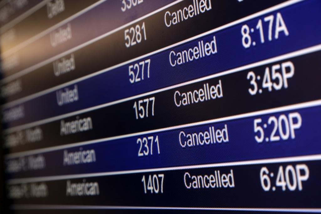 cancel - В России хотят модифицировать основания для отмены авиарейсов
