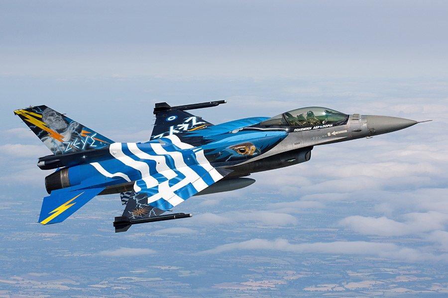 В Греции раскритиковали контракт с США по истребителям F-16