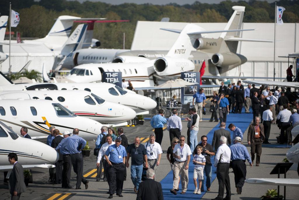В Лас-Вегасе прошла самая крупная выставка бизнес-авиации