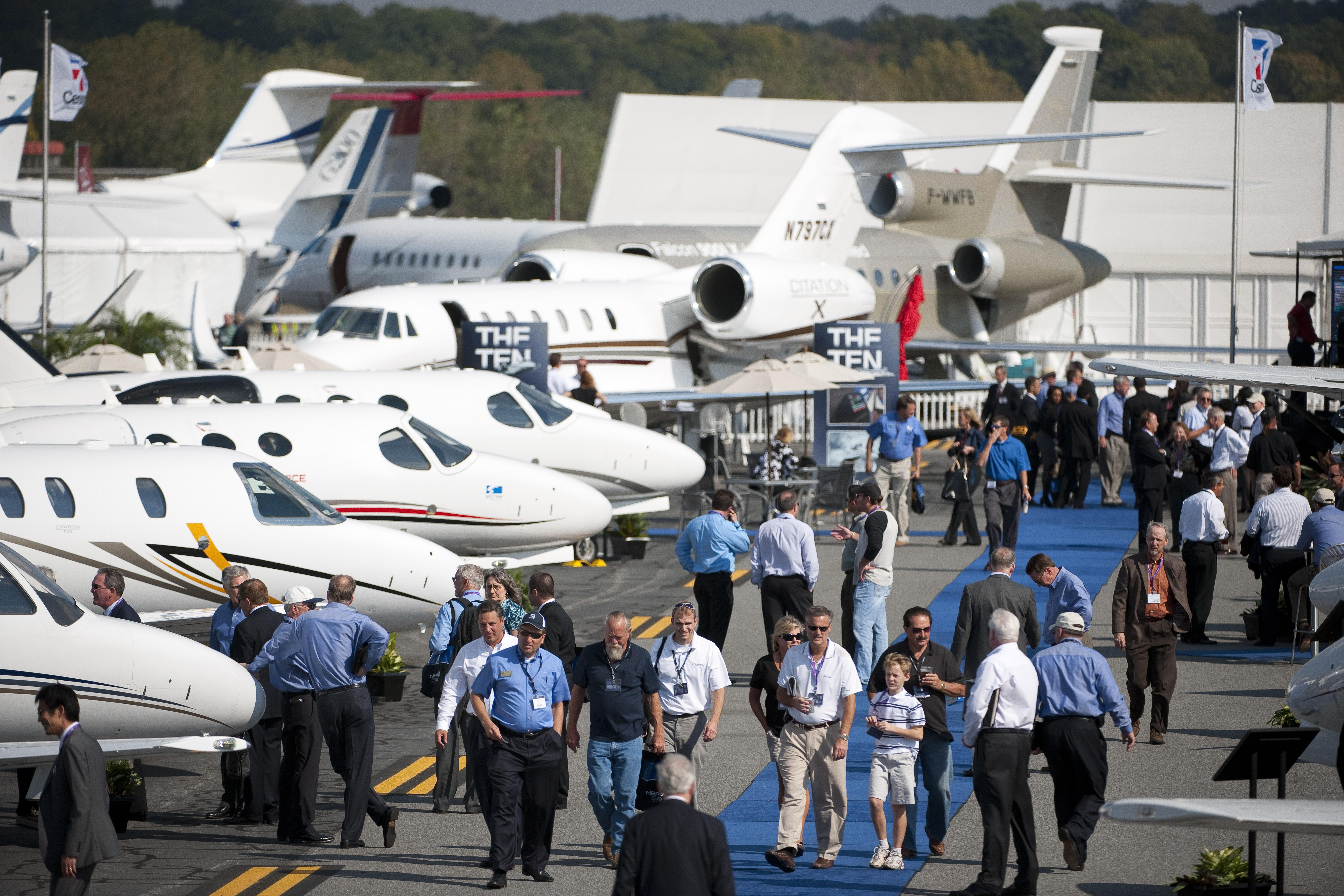 cobertura completa da nbaa 2014 - В Лас-Вегасе прошла самая крупная выставка бизнес-авиации