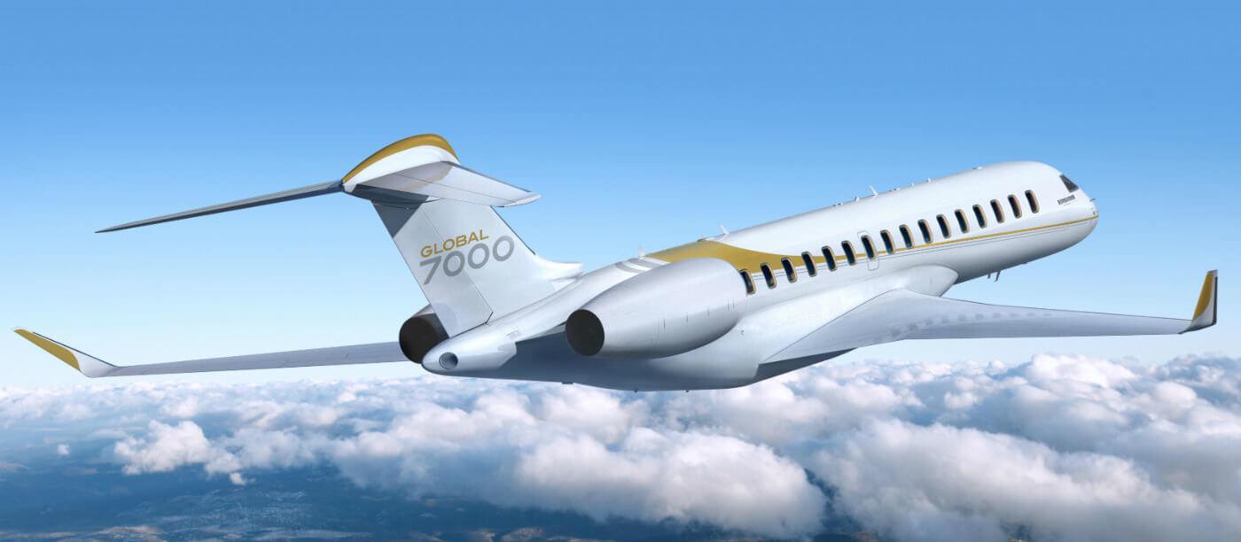 global 7000 bombardier photo resized 1400x612 - Публичная премьера Global 7000 на выставке NBAA в Лас-Вегасе