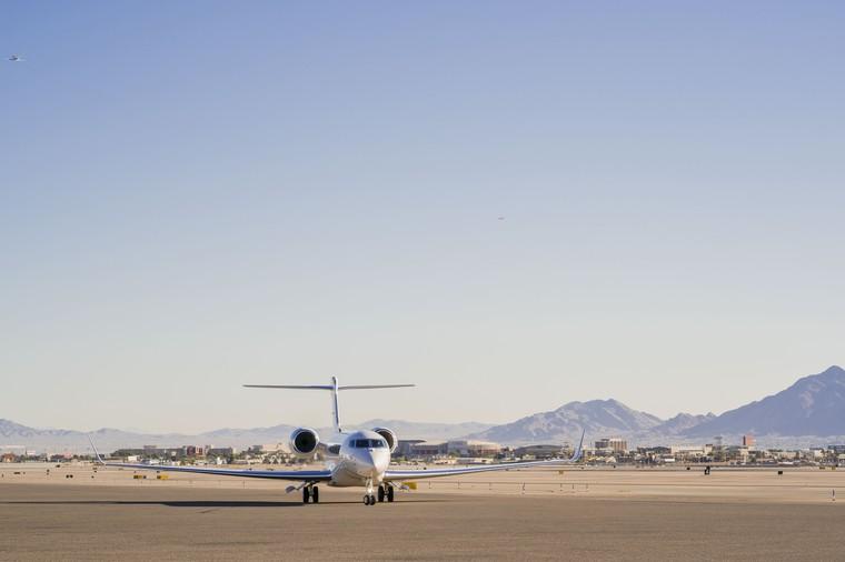 Gulfstream 650ER побивает рекорды скорости
