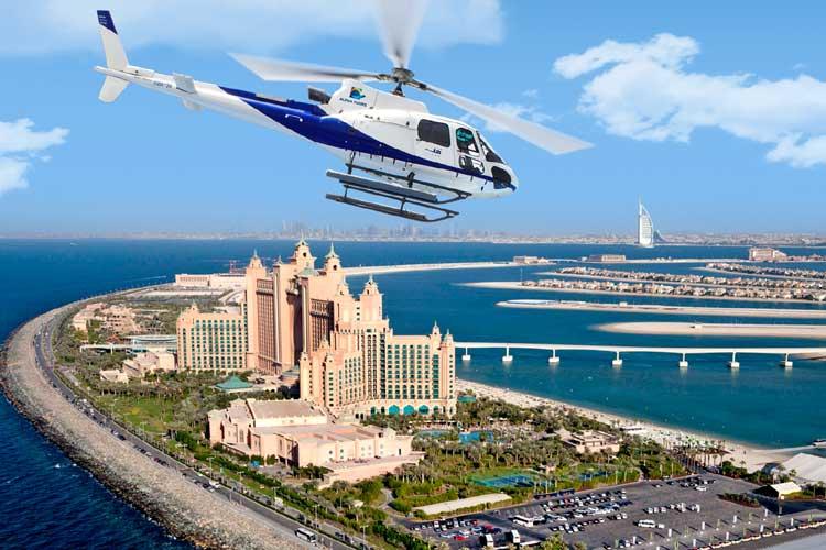 helicopter ride dubai2  - Вертолетная экскурсия по столице ОАЭ