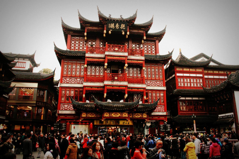Прогулка в Шанхае